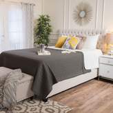 Pier 1 Imports Jayden Ivory Upholstered Queen Bed