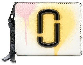 Marc Jacobs The Spray Paint Snapshot mini compact wallet