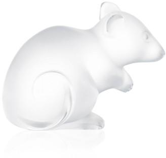 Lalique Mouse Ornament