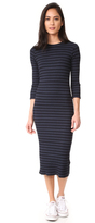 Monrow Stripe Sweater Dress