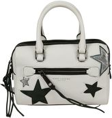 Marc Jacobs White star Patchwork Bauletto Tote