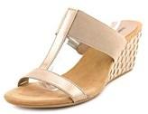 Style&Co. Style & Co Vern Women Open Toe Synthetic Tan Wedge Sandal.