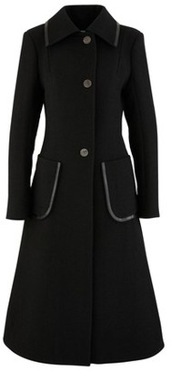 Loewe Patch pocket wool coat