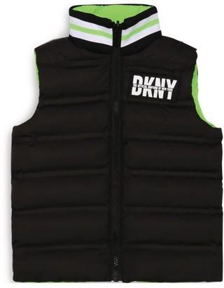 DKNY Reversible Logo Gilet (6-16 Years)