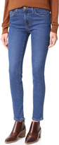 Current/Elliott High Waist Ankle Skinny Jeans