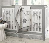 Pottery Barn Kids Gray Elephant Nursery Quilt Bedding Set: Toddler Quilt