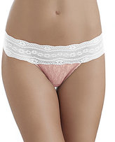 B.Tempt'd Lace Kiss Thong