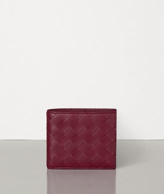 Bottega Veneta Billfold Wallet In Intrecciato Vn