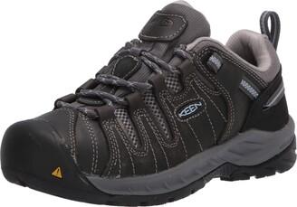 Keen Women's Flint II Low Soft Toe Non Slip Work Shoe Construction