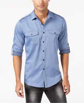 INC International Concepts I.n.c. Men's Dobby Utility Shirt, Created for Macy's