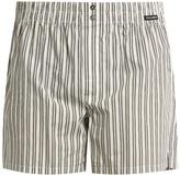 Dolce & Gabbana Multi-striped cotton-poplin boxer shorts