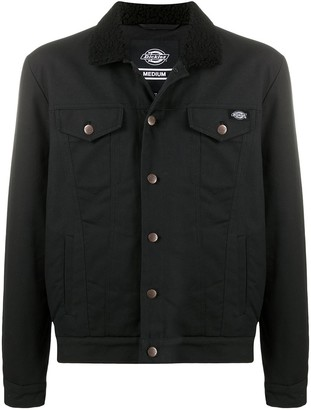 Dickies Construct Faux Shearling-Collar Jacket