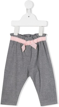 Il Gufo Bow Detail Trousers