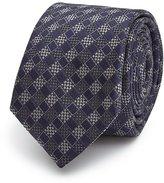 Reiss Nobile Check Silk Blend Tie