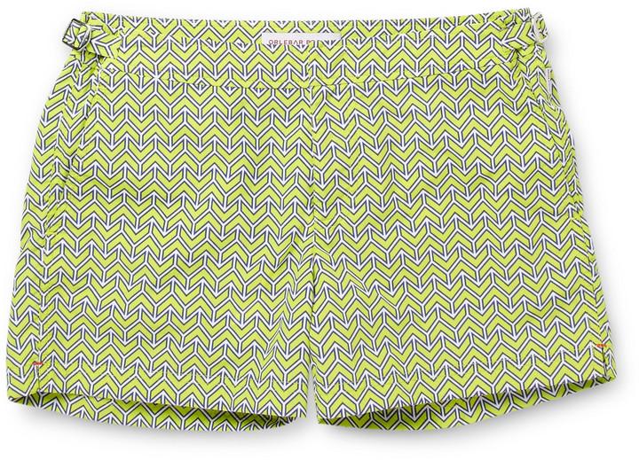 Orlebar Brown Setter Short-Length Printed Swim Shorts