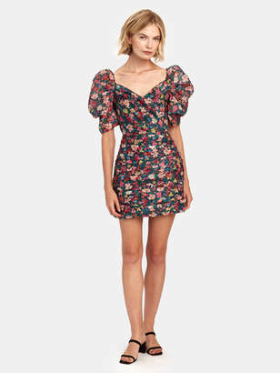 C/Meo Collective And Ever More Short Balloon Sleeve Mini Dress