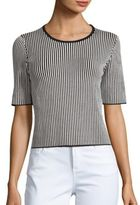 Theory Hesha Knit Cropped Top