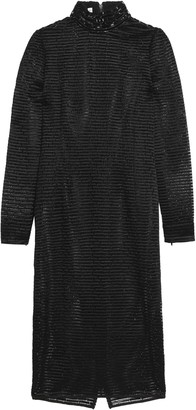 Amanda Wakeley Ribbed Crochet-knit Dress