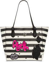 Betsey Johnson Patch Appliqué Medium Tote