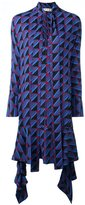 Marni geometric pattern dress - women - Viscose - 40