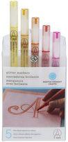Martha Stewart Glitter Markers Warm Spect Set