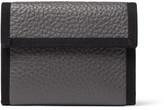 Maison Margiela Replica Full-grain Leather Wallet - Gray