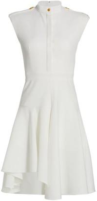 Alexander McQueen New Military Virgin Wool Dress