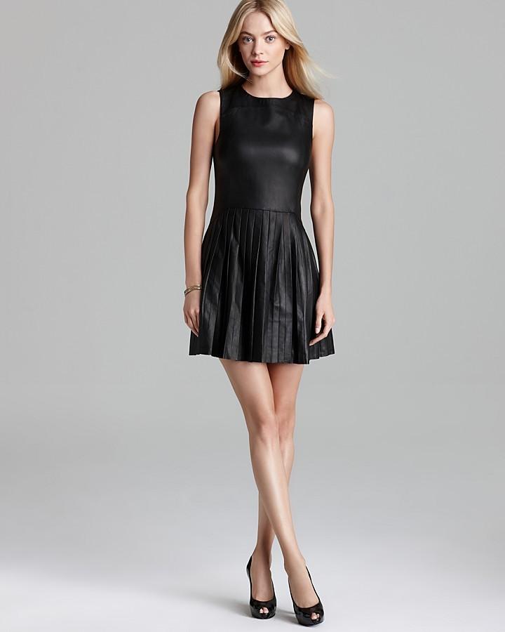 Rebecca Minkoff Leather Dress - Sleeveless Navigator