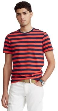 Polo Ralph Lauren Men's Classic-Fit Striped Crewneck T-Shirt