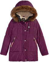 Jessica Simpson Hooded Expedition Parka with Faux-Fur Trim, Big Girls (7-16)