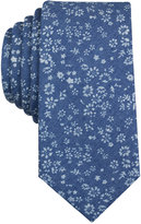 Bar III Men's Chantilly Floral-Print Slim Tie, Only at Macy's