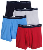 Jockey 4-Pack Stay New Boxer Briefs