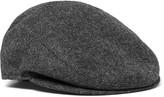 Borsalino - Herringbone Wool Flat Cap