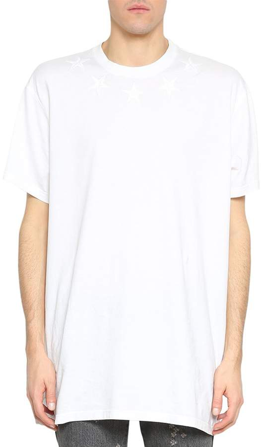 Givenchy Oversized Cotton Stars T-shirt