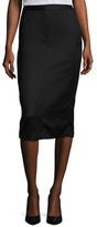 Kimora Lee Simmons Wool Silk Pencil Skirt