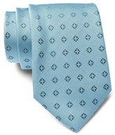 Calvin Klein Cross Medallion Silk Tie