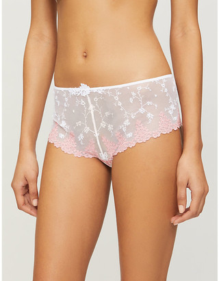Passionata White Nights mesh shorty briefs