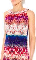 Wallis Petite Tribal Print Maxi Dress