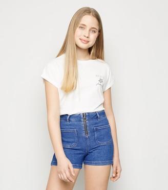 New Look Girls Bright Ring Pull Shorts