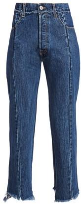 Vetements High-Waist Push-Up Jeans
