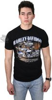 Harley-Davidson Mens Catch of the Day Motorcycle Scott Jacobs Shirt