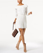 MICHAEL Michael Kors Off-The-Shoulder A-Line Dress