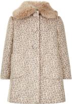 Monsoon Coco Leopard Coat