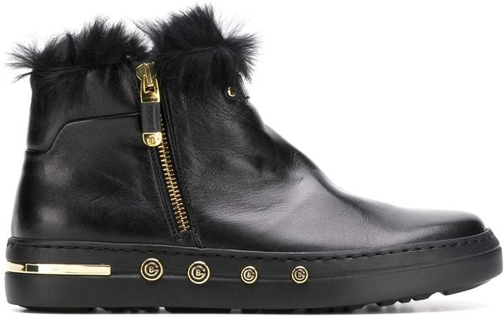 bdecb956 Fur Lined Leather Boots - ShopStyle