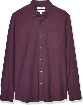 Goodthreads Standard-fit Long Sleeve Oxford Shirt W/Pocket Button