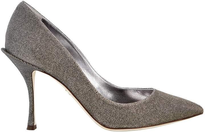 Dolce & Gabbana Silver Metallic Pumps