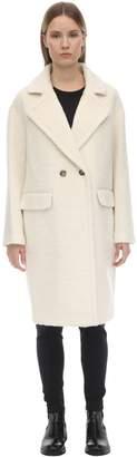 Mackage Eve Wool Blend Coat W/ Drop Shoulders