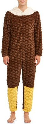 Briefly Stated Men's Animal Cosplay Lounge Union Suit