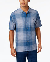 Tommy Bahama Men's Orinoco Two-Tone Grid Pattern Shirt