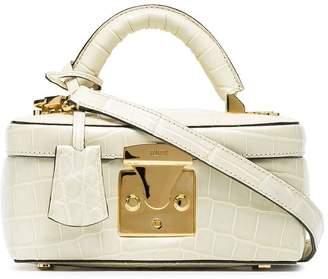 Stalvey ivory Beauty Case 1.7 crocodile leather bag